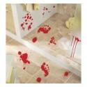 """Dekoracja do naklejania """"Krwawe ślady - stopy"""", 20 elementów"""