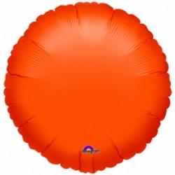 Balon pomarańczowy okrągły, 43cm