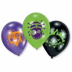 Balony Halloween Kids, 23cm, 6szt