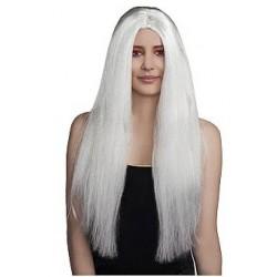 Peruka Witch, biała