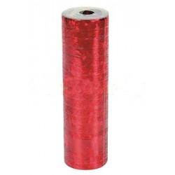 Serpentyna holograficzna, 4m czerwona