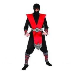 Strój Czerwony Ninja r.uniw.