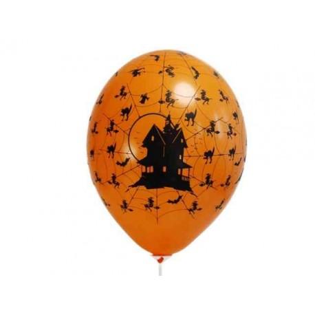 """Balony 14"""" Pastel Orange """"Nawiedzony dom"""""""