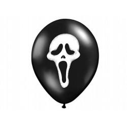 "Balony 14'' Pastel Black ""Krzyk"""