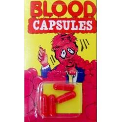 Sztuczna krew w kapsułkach