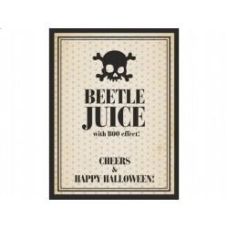 Etykieta na butelkę Beetle juice, 10 szt.