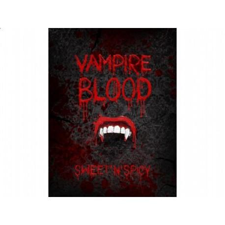"""Etykieta na butelkę """"Vampire Blood"""", 10 szt."""