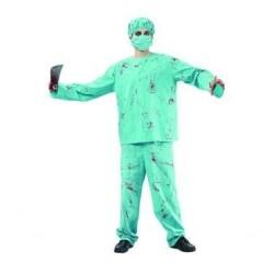 Strój Chirurg we krwi