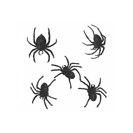 Zestaw 9 pająków