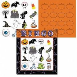 Gra Bingo Halloweenowe