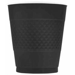 Kubeczki plastikowe czarne (10szt.)