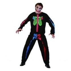Strój Szkieletor Neon