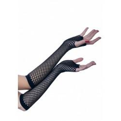 Rękawiczki siateczkowe, czarne