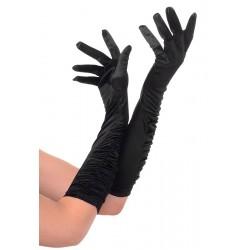 Rękawiczki karnawałowe, czarne