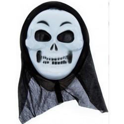 Maska CZACHA z kapturem